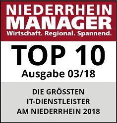 RZH - In den Top 10 des Niederrhein Manager 03/18